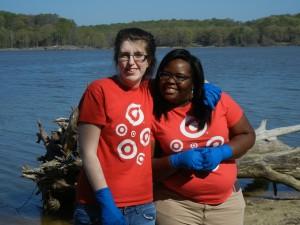 Volunteers from Waldorf Target